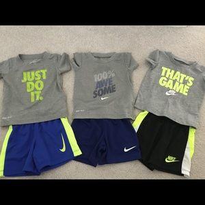 Like new Nike outfits 18mos